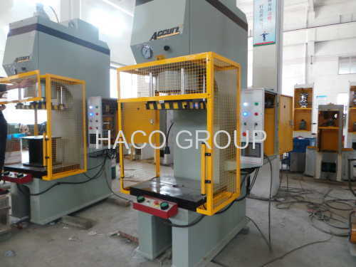 Hot stamping hydraulic press 125T