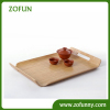 New style bamboo serving tray