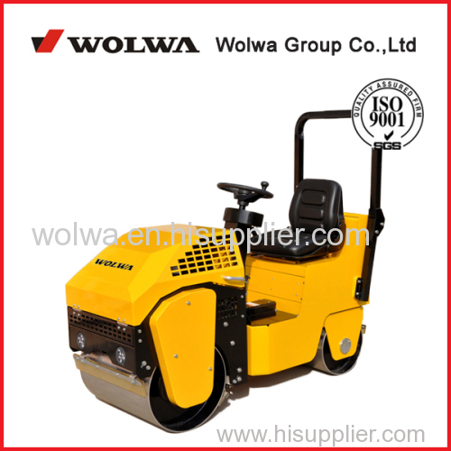 vibratory road roller with driving type