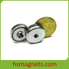 Customized N38 Countersunk Neodymium Ring Pot Magnets