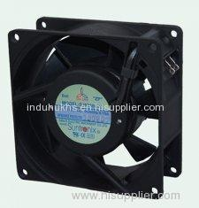 Suntronix fan 92x92x38 mm Industrial Exhaust AC Axial Fans, 7 blade cooling motor fan