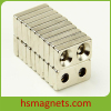 Block Permanent Neodymium Magnets With Countersunk Holes
