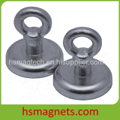 Permanent Neodymium Magnetic Hook Pot Magnet With Eyebolt