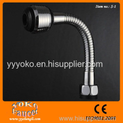Good quality kitchen tap chrome Free Flexsible Hose Single Handle with 2-function