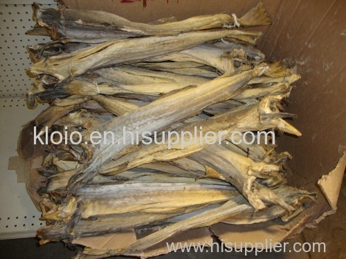 Grade A Dried Stock Fish and cod
