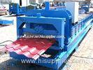 Professional Color Steel Glazed Tile Roll Forming Machine with PLC Control