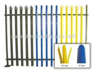 European Steel Palisade Fence Products China Products
