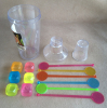 13 Piece cocktail shaker set 700ml plastic