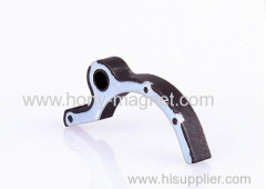 Injection molding bonded magnet assemblies for car