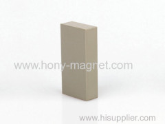Grey epoxy coating permanent block neodymium magnet
