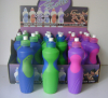 Sport water bottle with rubber grip 700ml plastic in display box packing