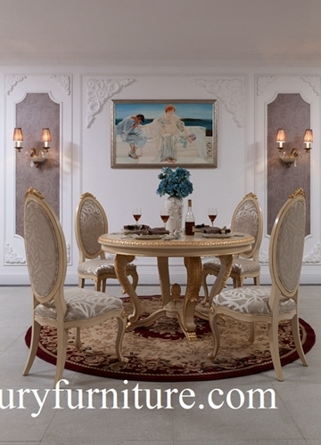 Dining table and chairs neo classical dining room sets glass cabinet buffet cabinet