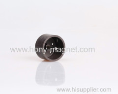Strong permanent custom plastic ferrite magnets