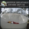 Hit in France inflatable bubble tree for hotel rent