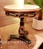 Corner table living room table marble table round table end table side table