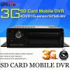 New Car DVR 4 channel Car DVR hard disk GPS Car DVR D1 G sensor motion detection black box