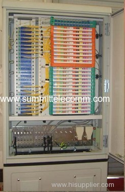 FTTH Street Cabinets Next Generation FDH Cabinets with PLC Splitters Cross Connection Cabinet without Jumper Cable