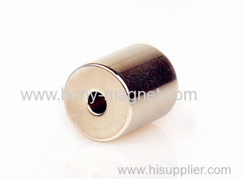Sintered strong n45 ring permanent magnet