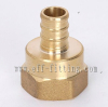 Brass pex female adapter