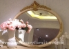 Classical wooden mirror decorat mirror dressing mirror wall mirror