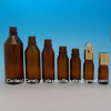 New Design Amber Essential Oil Bottle With Dropper
