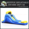 Flame giant inflatable water slide
