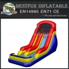 Giant inflatable water slide with pool for adult