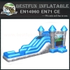 Knight bounce castle inflatable combo