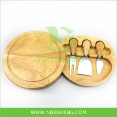 Cheese Gadget Set of 3pcs with Wooden Cutting Board