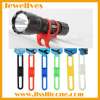 Bicycle Silicone Band Flash Light holder