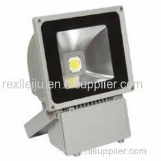 REX-S007 High Power 70w Led Flood Light Fixture, Dc 54v Led Outdoor Flood Light For Building