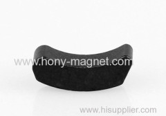 Best quality arc neodymium black magnet