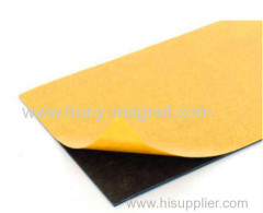 Wholesale smooth adhesive rubber magnet