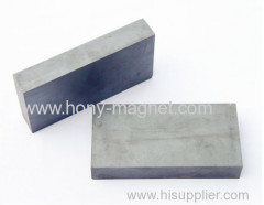 Bonded neodymium block motor magnets