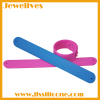 Silicone slap wristband easy to use
