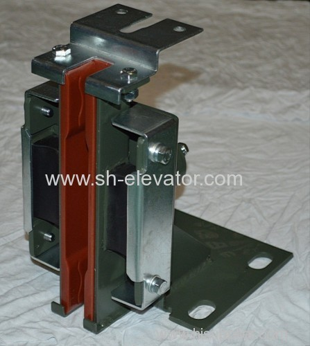 Sliding guide shoe elevator spare part