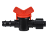 Plastic micro irrigation ball valve