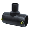 hdpe electro fusion reducing tee pipe fittings