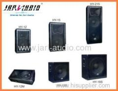Pa Audio DJ/Stage Wooden Speaker