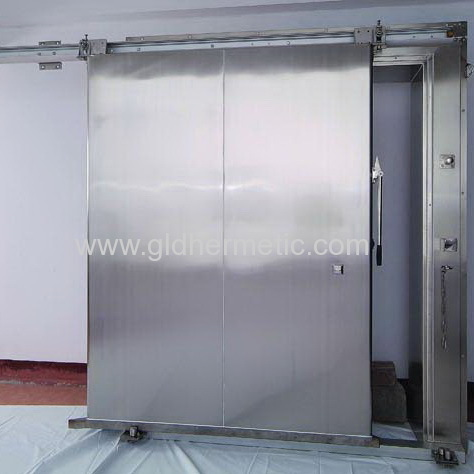 Heavy Duty Stainless Steel Freezer Sliding Doors For Cold Rooms