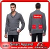 Pullover fashion men sweaters With Battery Heating System Electric Heating Clothing Warm OUBOHK