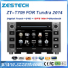 ZESTECH double din car stereo for Toyota Tundra 2014 auto stereos with Gps navigation all in one dvd sat nav
