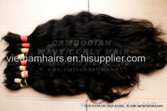 Wholesale raw unprocessed Cambodian hair