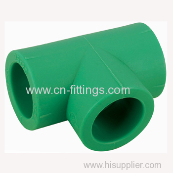 ppr equal tee pipe fittings