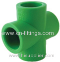 ppr cross pipe fittings