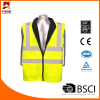 2014 NSC Exhibitor Fluo Traffic Safety Hi Vis Reflective Safety Waistcoats