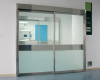 automatic hermetic sliding glass doors for ICU