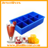 8 big cavities ice cube tray silicone material