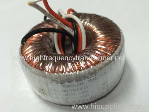 copper wire good quality toroidal transformer for 220V and 110V