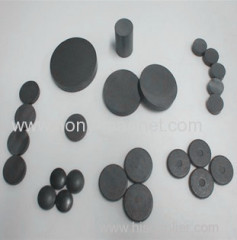 Black epoxy coating bonded ndfeb pump magnet
